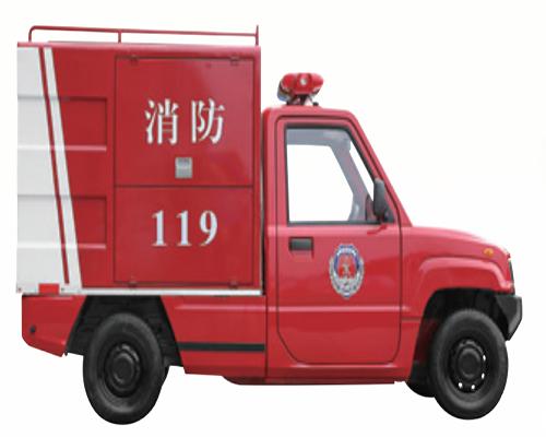 高压泡沫喷雾消防车